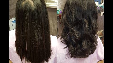 difference between a cosme perm and a digital perm digital perm 2 momo hair toronto youtube