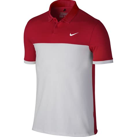 Polo Shirt New Nike Limited new nike golf 2016 icon color block polo 725527 size ebay