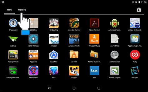 tablet widgets how to add a widget for a contact to the home screen in
