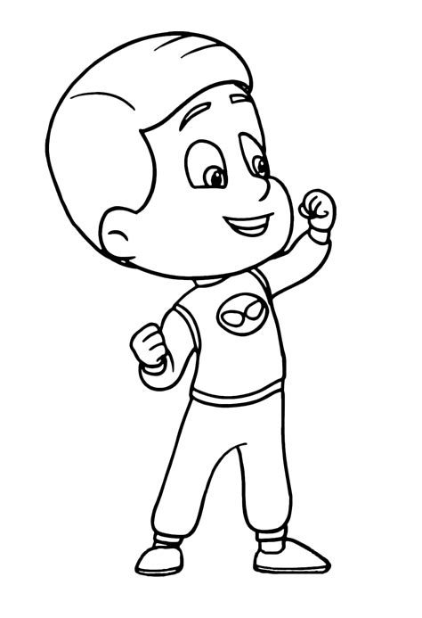 mask coloring pages pj masks coloring pages best coloring pages for