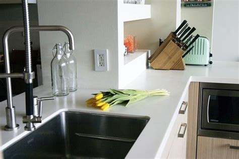 all about synthetic solid surface countertops