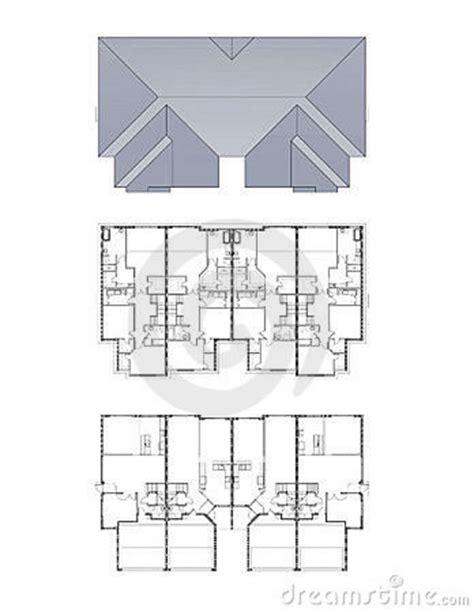 professional house plans professional house plans royalty free stock photo image 5723535