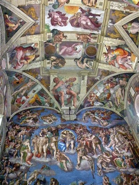 Sisteen Chapel Ceiling by Pin By Judy Thill On Books Worth Reading
