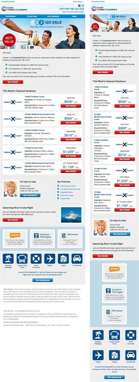 responsive email template working in outlook email