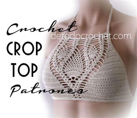 crop top a crochet paso a paso c 243 mo tejer crop top crochet crochet prendas mujer