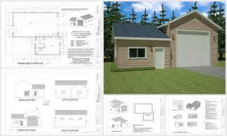 Garage With Apartments Plans 100 Garage And Barn Plans In Pdf Jpg And Dwg On A Dvd