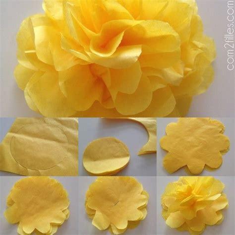 Bricolage Fleur En Papier De Soie by Les 25 Meilleures Id 233 Es De La Cat 233 Gorie Fleurs En Papier