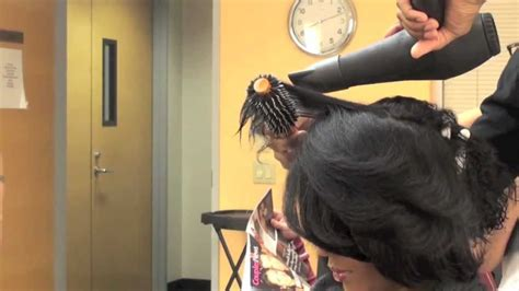 hairstyles for blow dried african american hair blowdry african american hair youtube