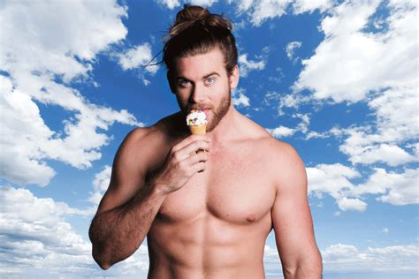 the happiest instagram account on earth man buns of hunk of the day brock o hurn alan ilagan