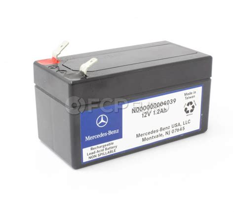 mercedes auxiliary battery genuine mercedes 000000004039