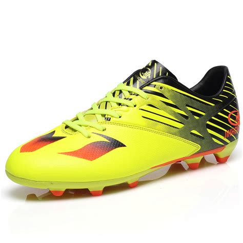football spikes shoes black and yellow football cleats promotion shop for