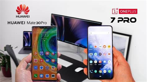 huawei mate  pro  oneplus  speed comparison