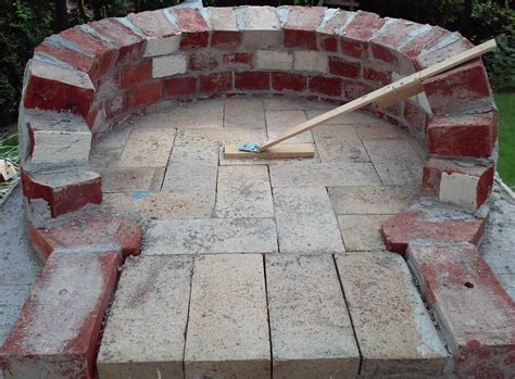 Wood Fired Pizza Oven Base Plans