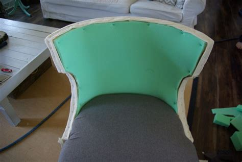 Diy Reupholster by No Sew Reupholster Chair