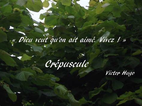 le crpuscule de la cr 233 puscule les contemplations victor hugo