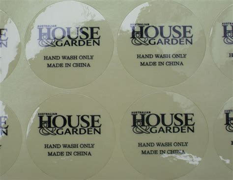 printable clear sticker paper malaysia transparent sticker printing round sticker waterproof vinyl