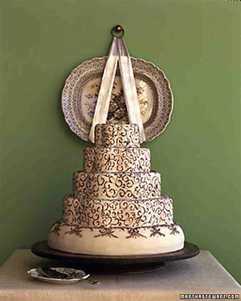 Wedding Cake Patterns by Wedding Cakes Inspired By China Patterns Martha Stewart