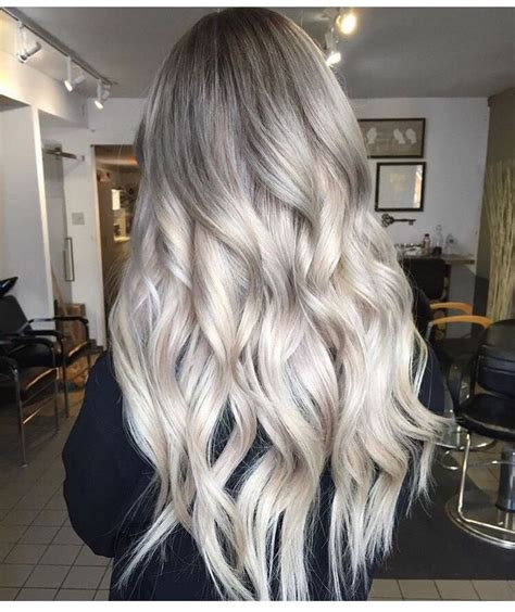 40 hair сolor ideas with white and platinum blonde hair 17 best ideas about grey ombre hair on pinterest grey