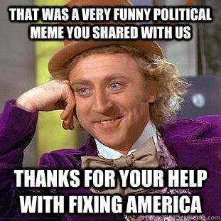 Meme Politics - a brief history of memes and how they re destroying our