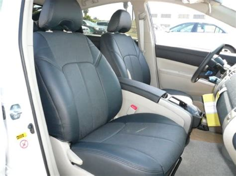 toyota leather seat covers 2008 toyota yaris 4 door sedan clazzio leather seat covers