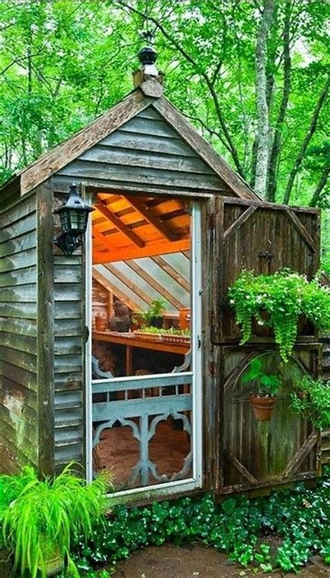Potting Shed Greenhouse by Rustic Potting Shed Greenhouse Potting Shed