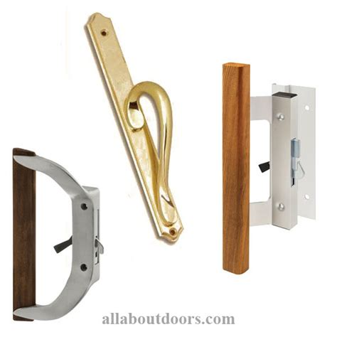 Sliding Patio Door Handles by Hardware Doors Everbilt Stainless Steel Decorative