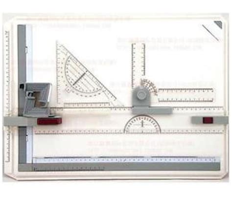 Drafting Table Ruler 51 36 4cm Professional A3 Portable Drafting Table Top Boards With Parallel Ruler Ebay