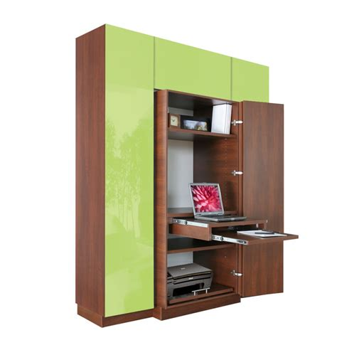 computer armoire plus home office storage contempo