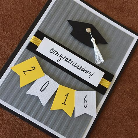 Handmade Graduation Cards - graduation card unique 2016 graduation card