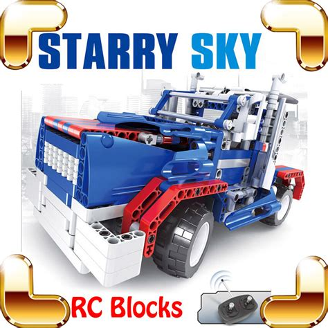 Bricks Ausini 20109 Remote Car new idea gift 8002 starry sky rc remote brick car block vehicle machine radio truck