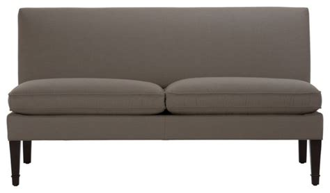 armless settee bench baldwin armless settee traditional indoor benches by