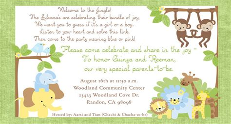 Baby Shower Invitation Card Wording by Baby Shower Invitation Wording Ideas Theruntime