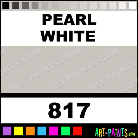 pearl white artist acrylic paints 817 pearl white paint pearl white color rembrandt artist