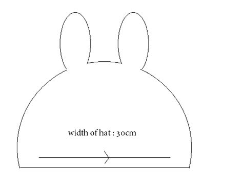 beanie template diy fashion diy bunny beanie from an sweater