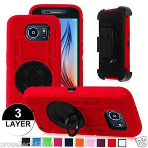 Samsung S6 Future Armor Hardcase With Belt Holster outer box armour cover w belt clip holster for samsung galaxy s6 ebay