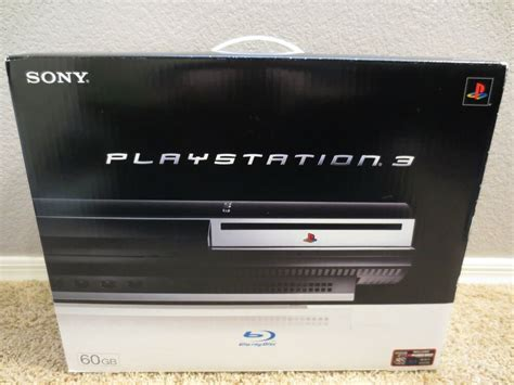ps3 console brand new sony playstation 3 60gb backwards compatible