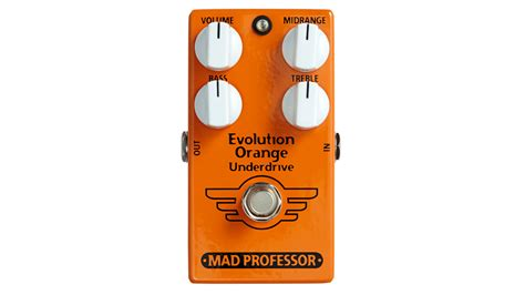 Detox Eq Pedal Review by Mad Professor Evolution Orange Underdrive Review Musicradar