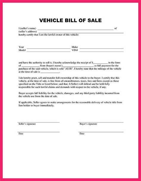 trade bill of sale template trade bill of sale template bio letter format