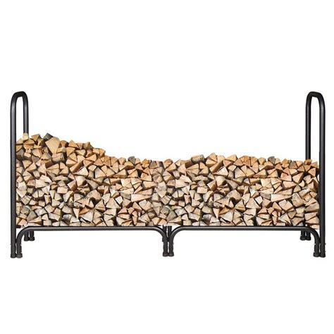 Indoor Firewood Rack by Indoor Log Rack Black Iron Firewood Storage Rack With