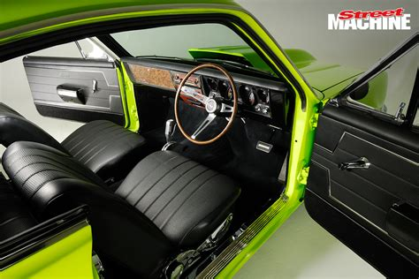tough holden 355 powered ht monaro machine