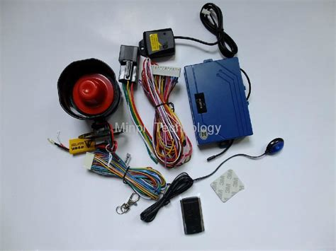 Alarm Motor Mp one way car alarm system with remote engine start stop