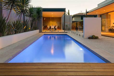 House With Pools by Fibreglass Swimming Pools Aqua Technics