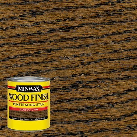 minwax 8 oz wood finish weathered oak based interior