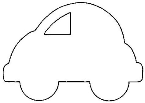 car template printable car shape so many possibilities transportation