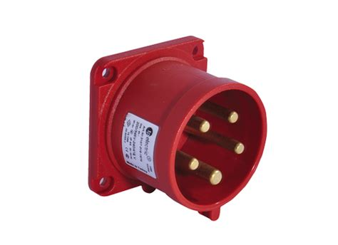 Surface Mounting 3x32a 5x32a panel mount socket outlet 70x70 ip44