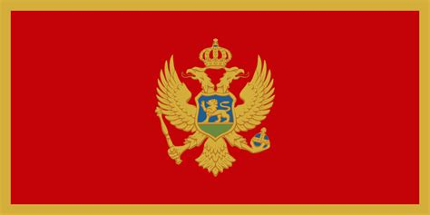 montenegro flags of countries