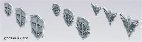 Hbj2855 Builders Parts Hd Ms Emblem Relief 01 amiami character hobby shop builders parts hd ms