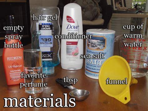 diy setting spray with hairspray best 25 sea salt spray ideas on diy salt spray diy sea salt spray and sea salt