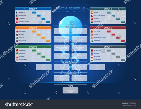 Calendario Z Cup 2016 Match Schedule Template For Web Print 2016