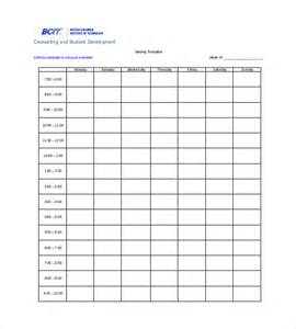 Word Table Templates Free timetable templates 14 free word pdf documents